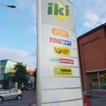 Reklaminiai pilonai - gamyba ir montavimas