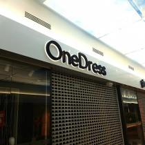 Tūrinės raidės OneDress @ PC MEGA