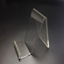 Telefono stovelis, laikiklis iš organinio stiklo