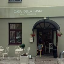 Casa Della Pasta iškaba pagaminta iš aliuminio kompozito