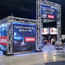 SKYTECH Parodos zonos projektavimas ir pilnas įrengimas @ GameON 2015