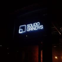 Solido Grindys šviečianti iškaba @ Kaunas