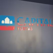 Logotipo gamyba ir montavimas ant sienos  @ CAPITAL Turtas