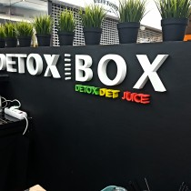 DETOX BOX putplasčio raidės @ PC MEGA