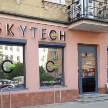 SKYTECH tūrinės raidės Vilniuje