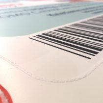 UV spauda ant PVC plastiko