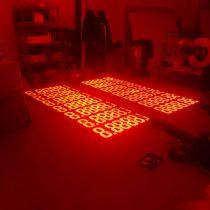 LED reklama - degalinių kainų tablo (lenta)