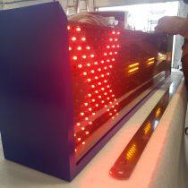 LED švieslentė parkavimo sistemai