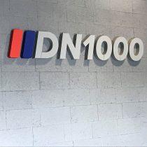 DN1000 logo - putplasčio raidės
