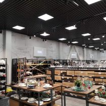 PROMO Cash&Carry vidinių šviesdėžių gamyba