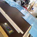 Stiklinių, plastikinių pertvarų, atskyrimų gamyba