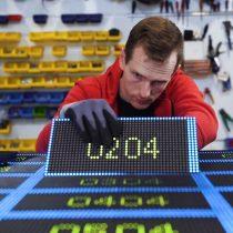 P6.6 LED laukinio ekrano surinkimas